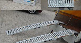 61DmXJEYLL 310x165 - 2x Auffahrrampe Stahl 500 Kg (Traglast Paar) klappbare faltbare Rampe Auffahrschiene Motorradrampe Auffahrbock (Traglast 1600 Kg Paar) Verladerampe Verladerampen Laderampe Laderampen